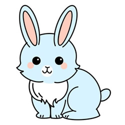 How to Draw a Cute Rabbit Easy Step by Step for Kids