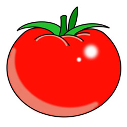 How to Draw a Tomato Easy Step by Step for Kids