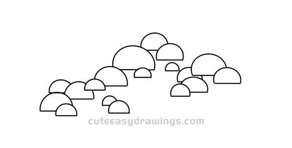 How to Draw a Pine Tree Easy Step by Step for Kids