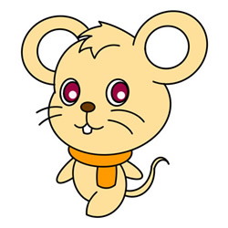 How to Draw a Walking Cartoon Mouse Easy Step by Step for Kids