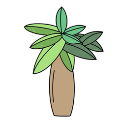How to Draw a Money Tree Easy Step by Step for Kids