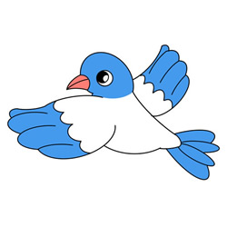 How to Draw a Flying Pigeon Easy Step by Step for Kids