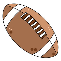 How to Draw a American Football Easy Step by Step for Kids