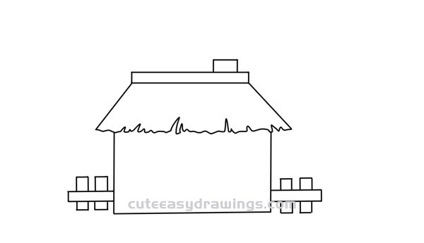 How to Draw a Humble House Easy Step by Step for Kids