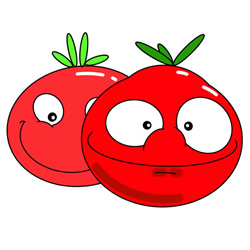 How to Draw a Cartoon Tomato Easy Step by Step for Kids