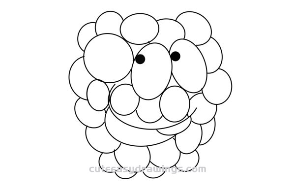 How to Draw a Cartoon Mulberry Easy Step by Step for Kids