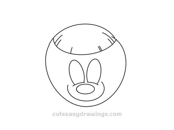 How to Draw a Cartoon Coconut Easy Step by Step for Kids