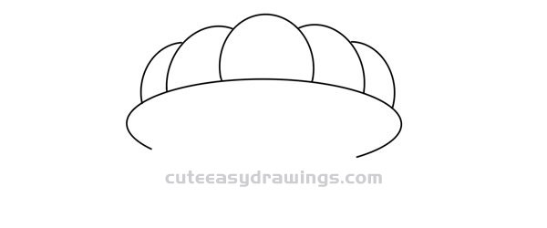 How to Draw a Cartoon Scallop Easy Step by Step for Kids