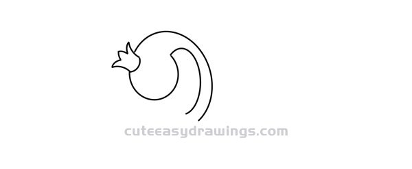 How to Draw a Cartoon Swan Princess Easy Step by Step for Kids