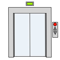 How to Draw an Elevator Door Easy Step by Step for Kids