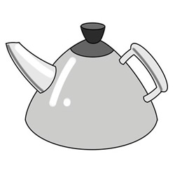 How to Draw a Cute Kettle Easy Step by Step for Kids