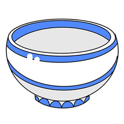 How to Draw a Ceramic Bowl Easy Step by Step for Kids