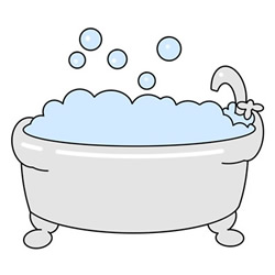 How to Draw a Cute Bathtub Easy Step by Step for Kids