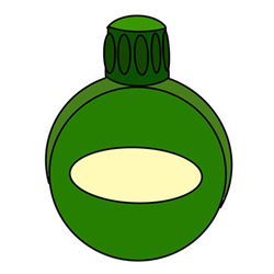 How to Draw a Military Water Bottle Easy Step by Step for Kids