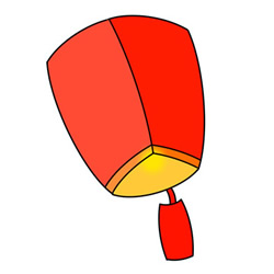 How to Draw a Kongming Lantern Easy Step by Step for Kids