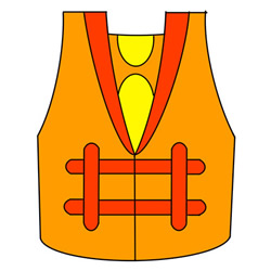 How to Draw a Life Jacket Easy Step by Step for Kids