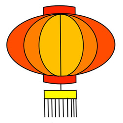How to Draw a Chinese Lantern Easy Tutorial for Kids