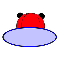 How to Draw a Children's Sun Hat Easy Step by Step for Kids
