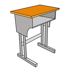 How to Draw a Desk Step by Step for Kids