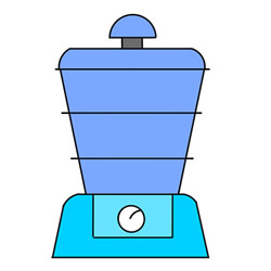 How to Draw a Soy Milk Machine Easy Step by Step for Kids