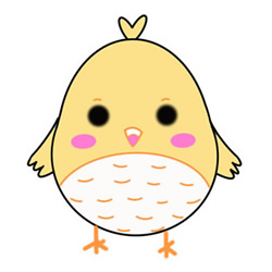 Cute Chick Drawing Easy Step by Step for Kids