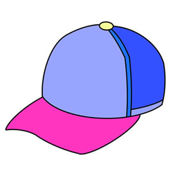 How to Draw a Baseball Cap Tutorial Easy for Kids