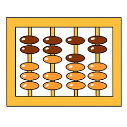 How to Draw an Abacus Easy Step by Step for Kids