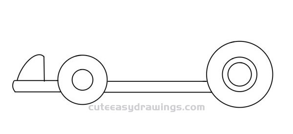 How to Draw a Cute Karting Easy Step by Step for Kids