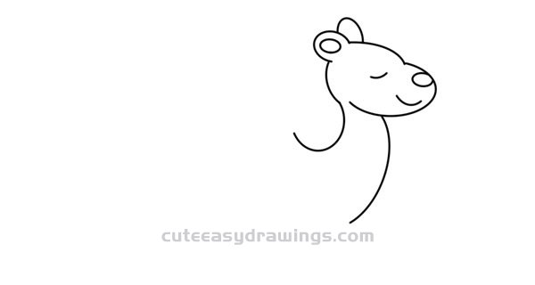 How to Draw a Cute One-Hump Camel Easy Step by Step for Kids