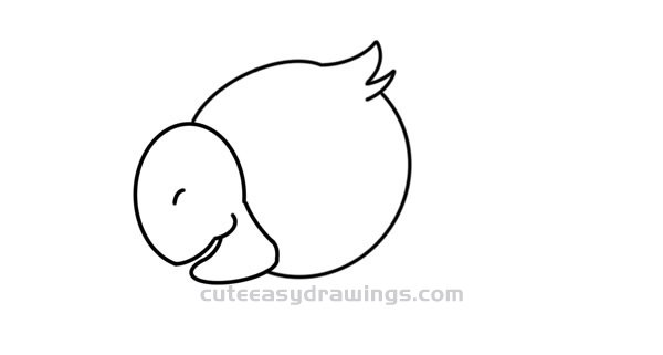 Kawaii Parrot Drawing Easy Step by Step for Kids