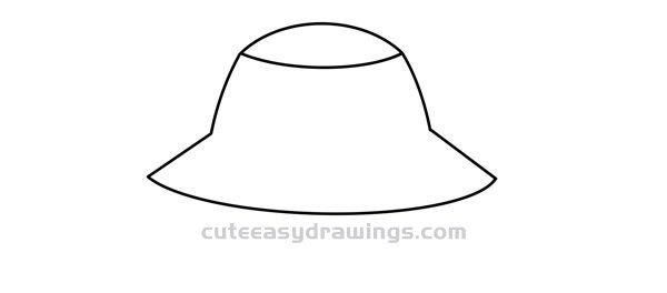 How to Draw a Bucket Hat Easy Step by Step for Kids