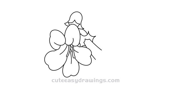 How to Draw Rehmannia Glutinosa Flowers Step by Step for Kids