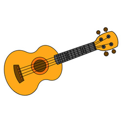 Guitar Drawing Tutorial Easy for Kids