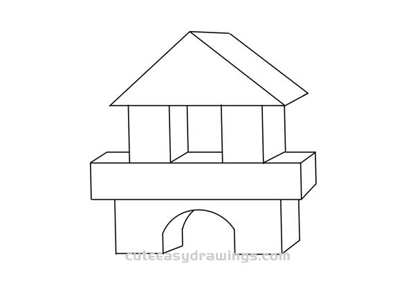 How to Draw Building Blocks Easy Step by Step for Kids