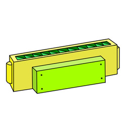 How to Draw a Harmonica Easy Step by Step for Kids