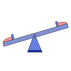 How to Draw a Seesaw Easy Step by Step for Kids