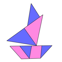 How to Draw an Origami Boat Easy Step by Step for Kids