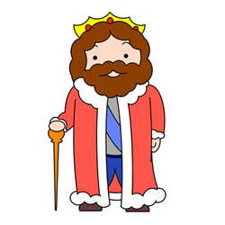 How to Draw a Cute King Easy Step by Step for Kids