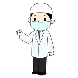 How to Draw a Male Doctor Easy Step by Step for Kids