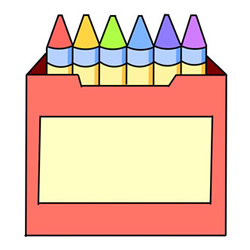 How to Draw a Box of Crayons Easy Step by Step for Kids