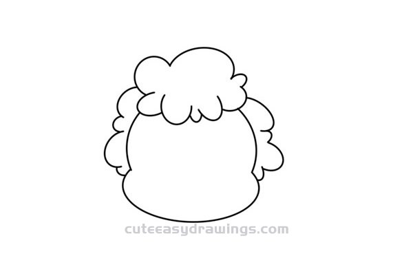 How to Draw a Cartoon Ram Head Easy Step by Step for Kids