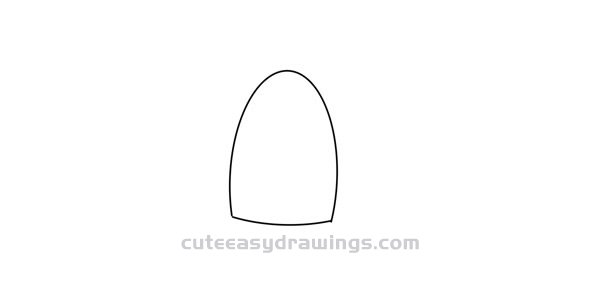 How to Draw a Mango Pudding Easy Step by Step for Kids