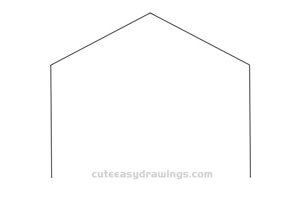 How to Draw a Cartoon Warehouse Easy Step by Step for Kids