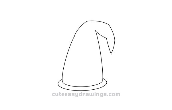 How to Draw a Mage Hat Easy Step by Step for Kids