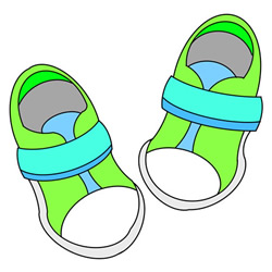 How to Draw Children's Sports Shoes Easy Step by Step for Kids