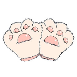 How to Draw Bear Paw Gloves Easy Step by Step for Kids