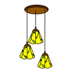How to Draw a Classic Chandelier Easy Step by Step for Kids