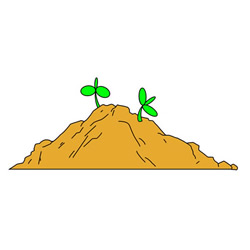 How to Draw Soil Easy Step by Step for Kids