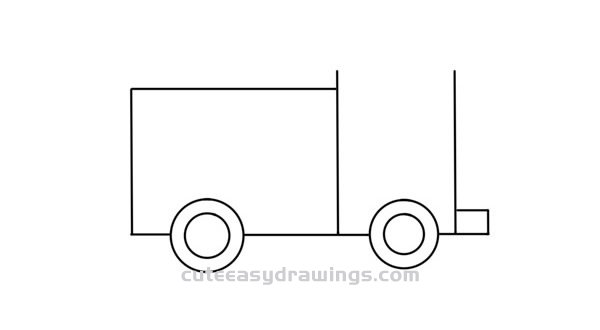 Cute Fire Truck Drawing Tutorial Easy for Kids