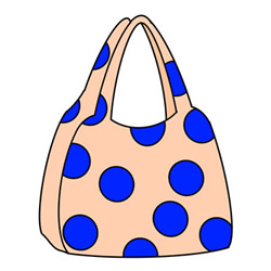 How to Draw a Shopping Bag for Kids